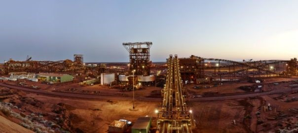 fortescue metal grp - Quarter Production report